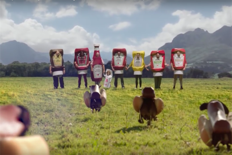 The Heinz 57 Ketchup commercial.