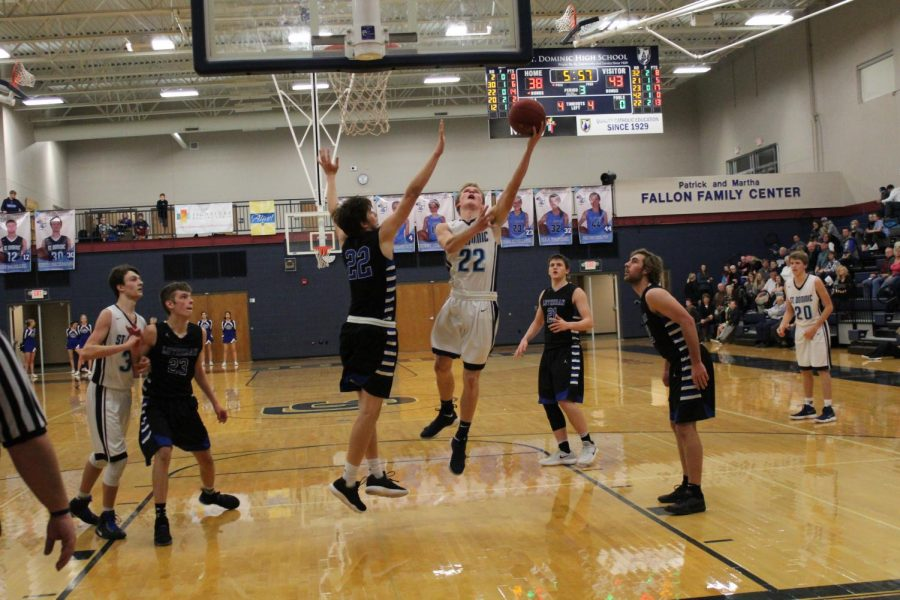 Willenbrink, Strong Defense Lead Dominic Past Lutheran