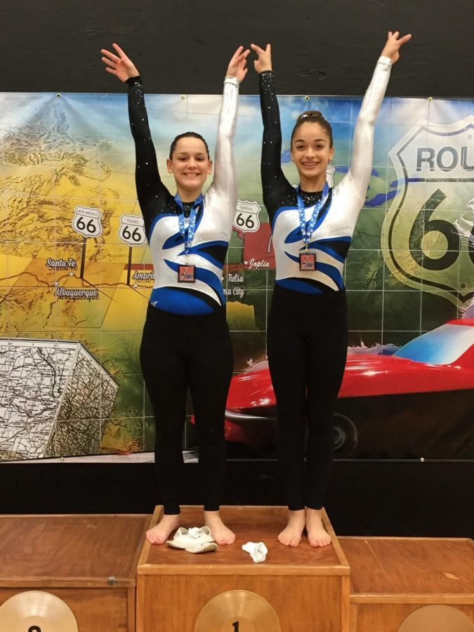 Rosie+and+her+teammate+after+a+regional+competition.