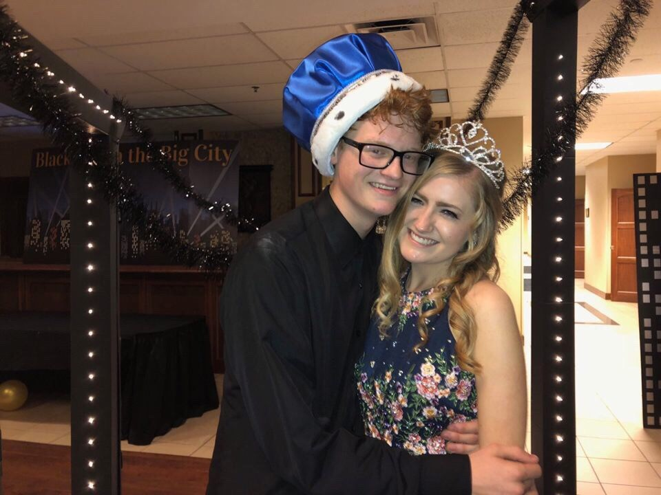 Blake Kuester and Caitlin Fleming