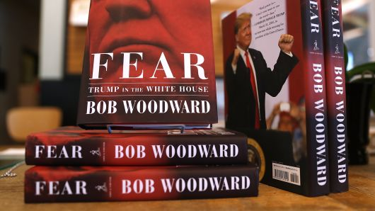 Within White House Walls: Bob Woodward's Book About Trump's Presidency Tops Charts