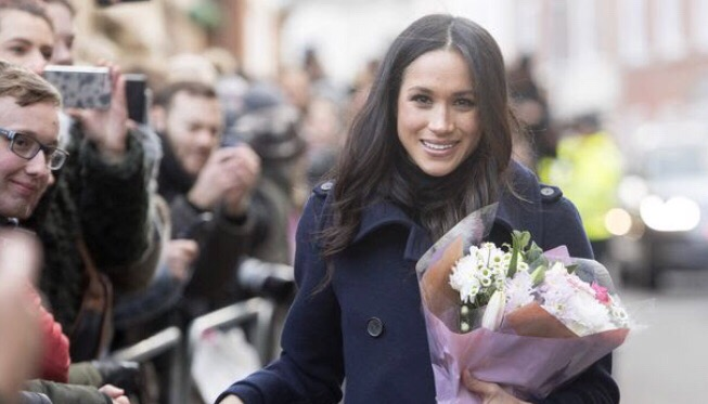 Meghan Markle before announcing 1st pregnancy.