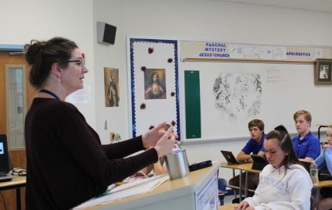 Israel, England and SDHS: Mrs. Bossert Comes to Saint Dominic
