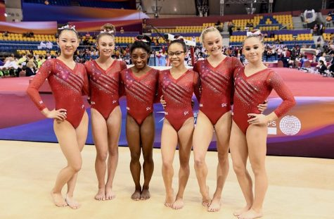 """Golden"" Performance by US Women's Gymnastics Team"