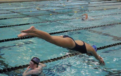 Girls Swim Prevails in Imming's First Meet