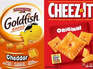 Goldfish vs. Cheez-its