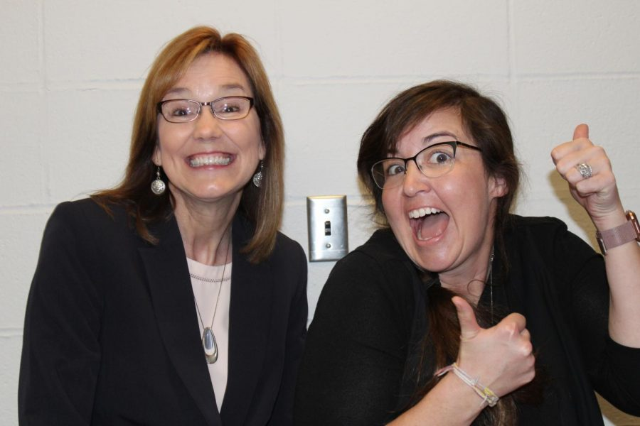 The new assistant principals, Suzie Mennemeier and Nikki Schuler, are excited for their new roles next year.