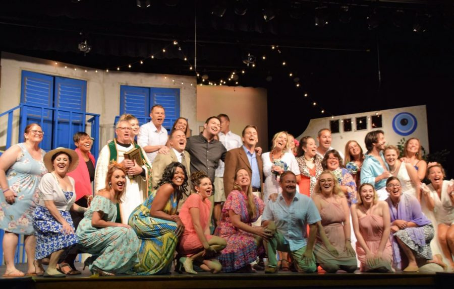 Here We Go Again: SDHS Alumni & Friends Perform Mamma Mia!