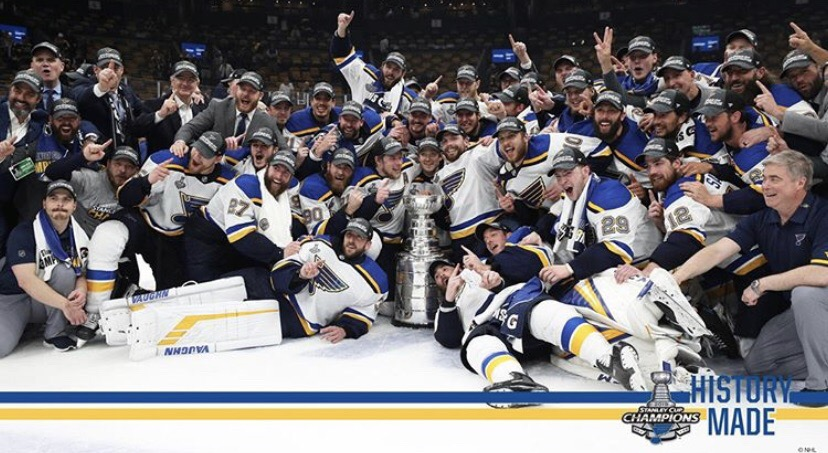 The Champions Return to the Ice