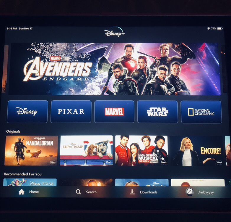 Disney+ is finally here! Disney's new steaming service dropped last Tuesday.