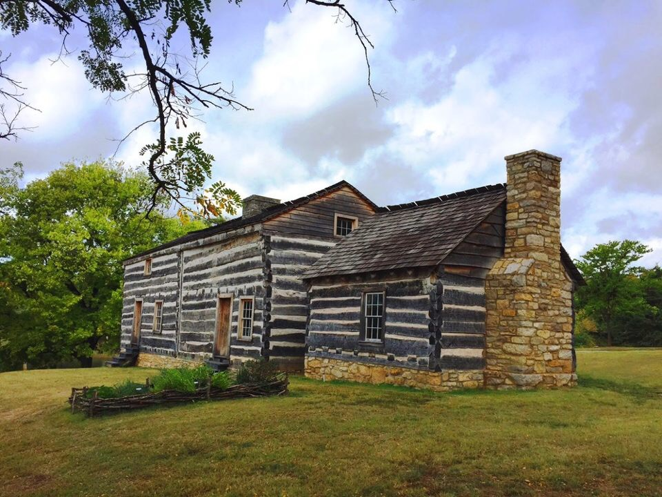 The rebuilt War of 1812 fort site is one of the most historical sites in Fort Zumwalt park