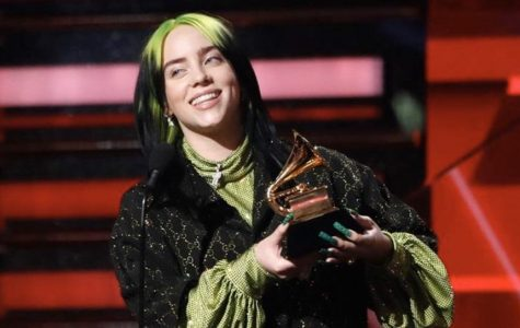 Billie Eilish takes home five trophies at the Grammy Awards this past Sunday.