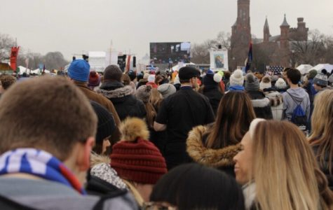Thousands of people preparing for the March for Life in Washington D.C.
