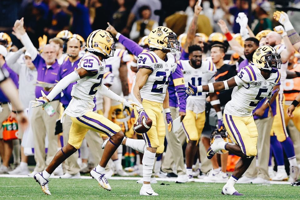 LSU Tigers capture fourth national title in impressive 42-25 victory