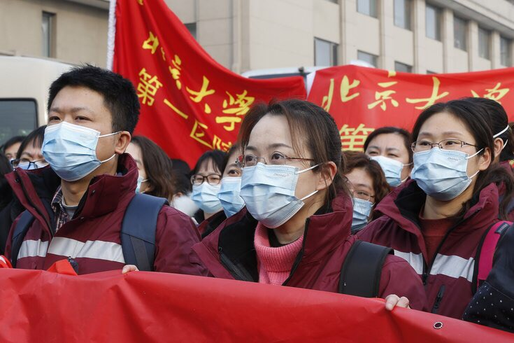 The coronavirus breaks out in China with over a hundred deaths.