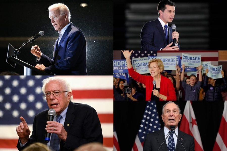 The+2020+Democratic+presidential+candidates+speak+to+the+public+about+their+policies.