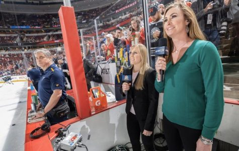 Women in Hockey Team Up With the Boys in Blue