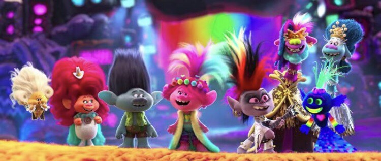 Poppy and Branch embark on another adventure in Trolls World Tour.