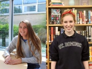 Editor-in-Chief's Alyssa Buchheit (left) and Maria Klassen (right)