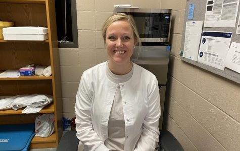 Mrs. Gravlin is here to help with any minor or serious needs of students.