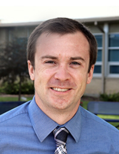Mr. Nick Schlenke, one of the new teachers at St. Dominic.