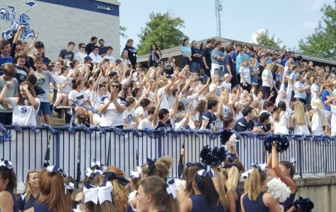 Pre-Covid pep rally last year was filled with excitement and school spirit