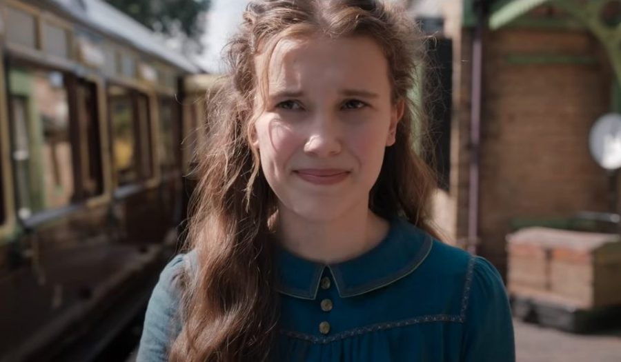 Millie Bobby Brown plays the brilliant role of Enola Holmes