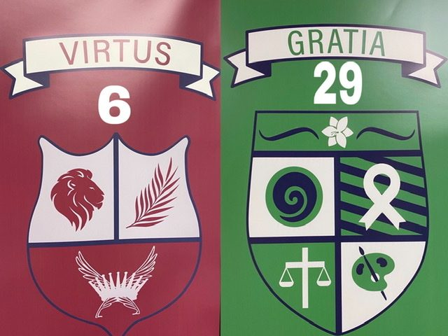 The house competition between Houses Gratia and Virtus heats up as they try to obtain and keep their spots in the race