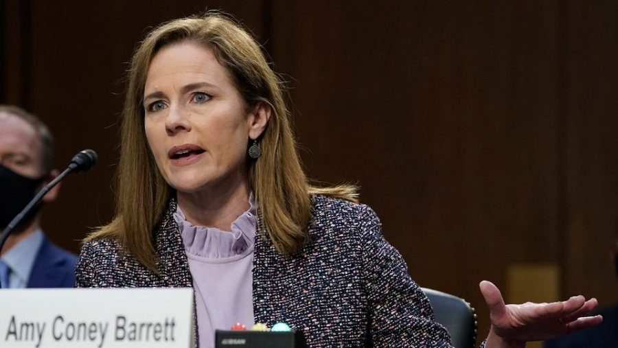 Amy Coney Barrett stands her ground during the tedious confirmation hearings.
