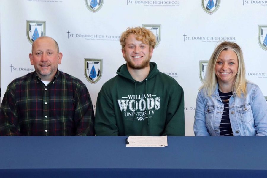 Senior Carson Prescott signed to William Woods University to continue his academic and athletic career in baseball.