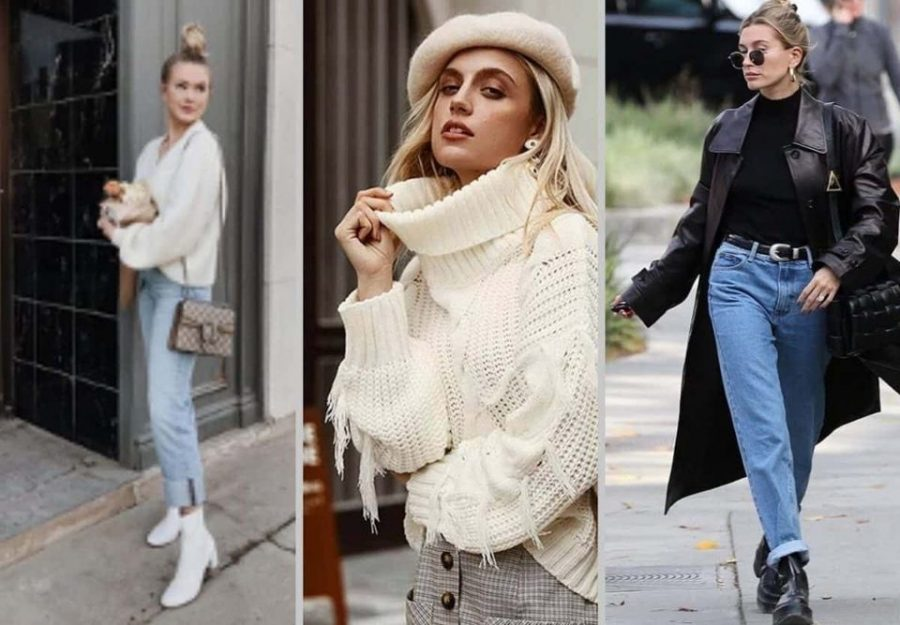 These are just a few examples of perfect winter outfits. Layering up can be fashionable too!