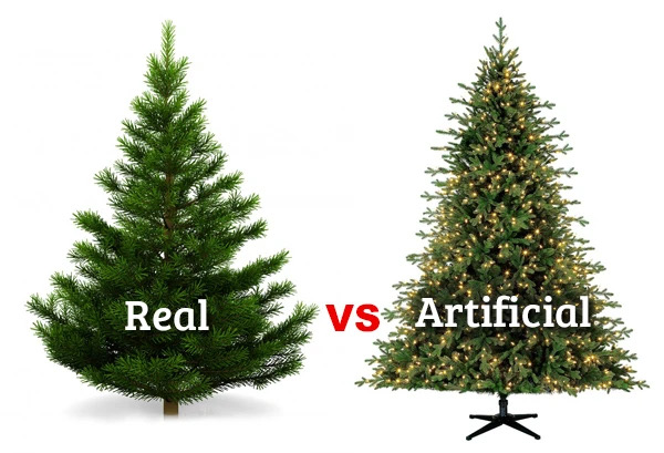Many different factors affect whether a real or fake Christmas tree is better during the holiday season
