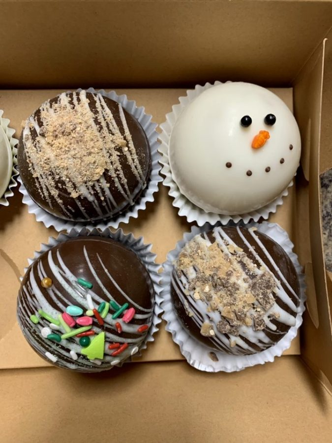 Hot chocolate bombs have been a popular treat during the winter season.