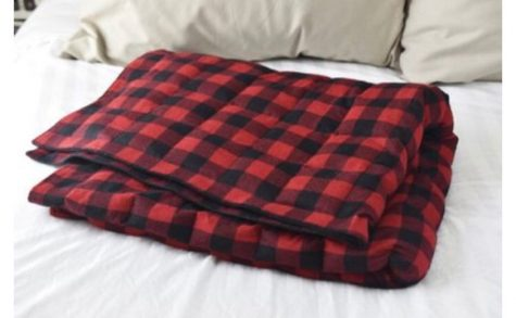 Weighted blankets were one of the most popular Christmas Gifts this year.