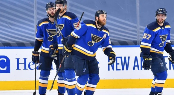 New captain Ryan O'Reilly and the St. Louis Blues will begin their 2021 season this Wednesday.