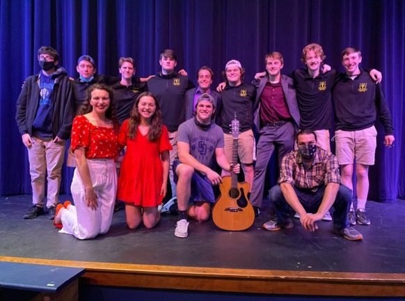 Both Viri Dei and the performers had a great time at the talent show Friday.
