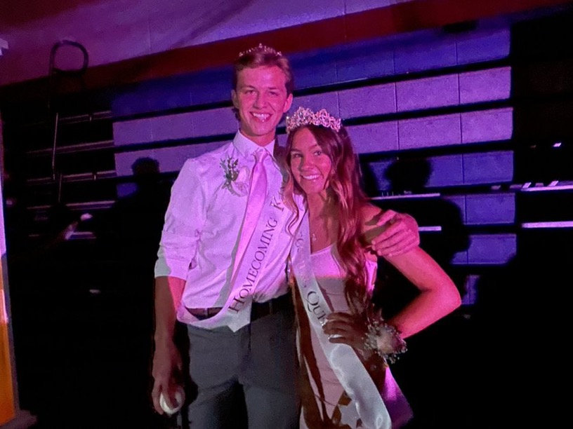 Crusaders danced all night long at the 2021 Homecoming with Homecoming king Grant Richars and queen Mia Pointer