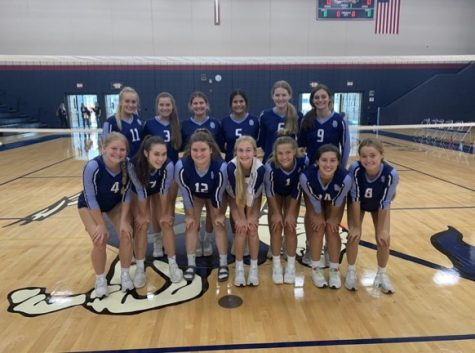 St. Dominic varsity volleyball gets ready for post season