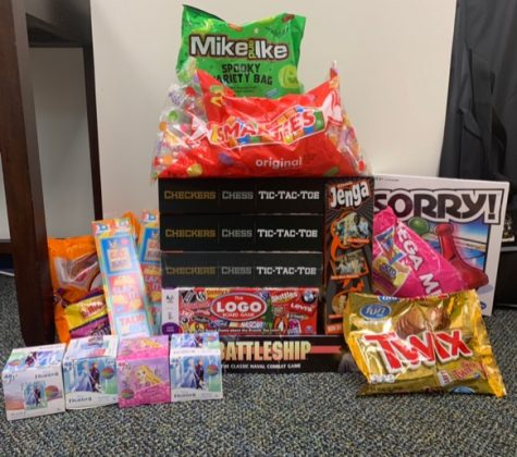 Dignitas has done an amazing job at collecting an assortment of items for their philanthropy drive