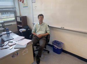 Mr. Tardiff is excited for his first year teaching at St. Dominic